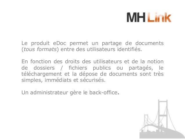 Présentation mh link e doc Slide 3