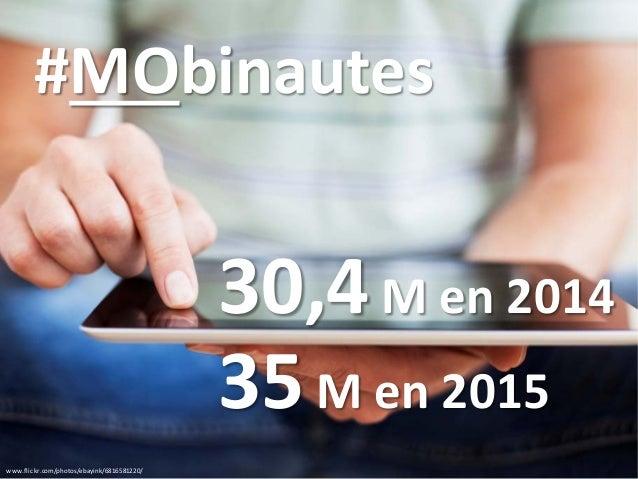 www.flickr.com/photos/ebayink/6816581220/ 30,4M en 2014 #MObinautes 35M en 2015