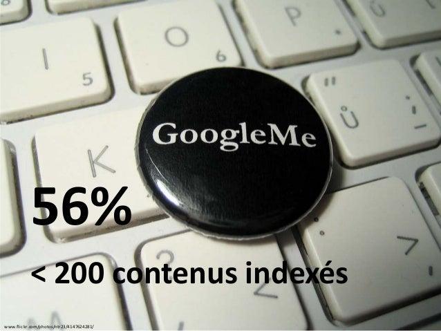 www.flickr.com/photos/ntr23/4147624281/ 56% < 200 contenus indexés