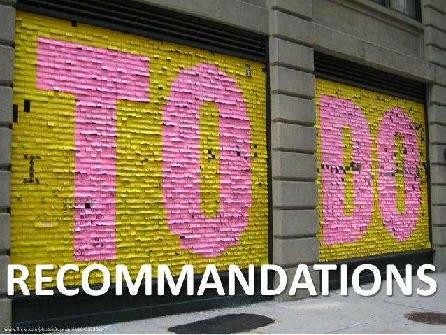 www.flickr.com/photos/superamit/1043379069/ RECOMMANDATIONS