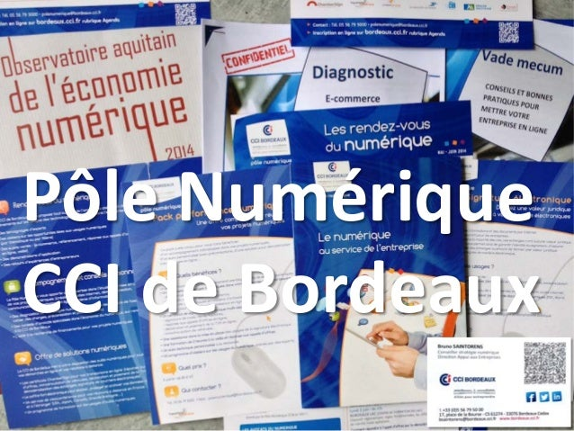 Pôle Numérique CCI de Bordeaux