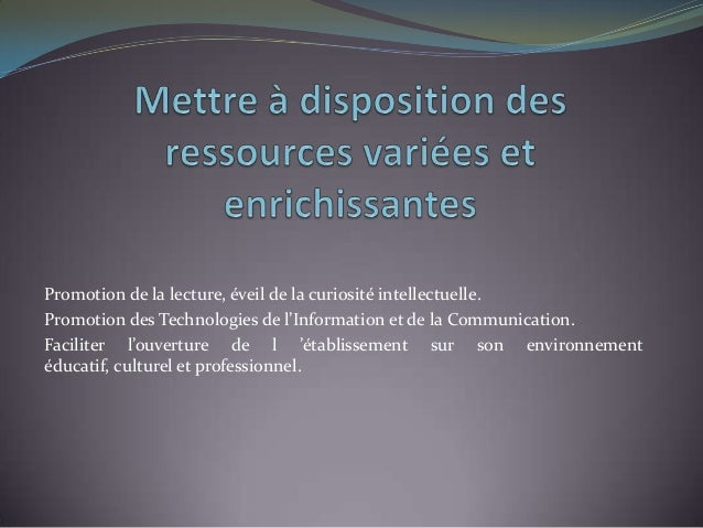 Présentation missions cdi2 Slide 3
