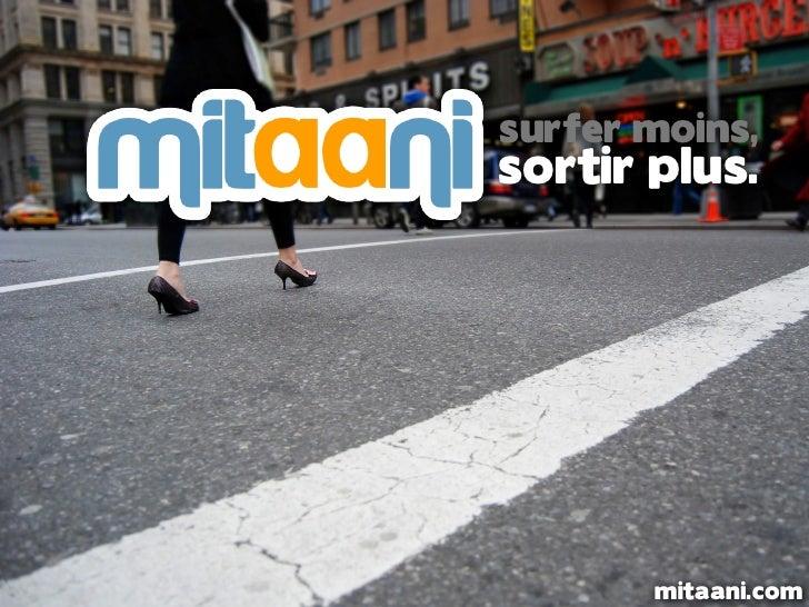 surfer moins,sortir plus.       mitaani.com
