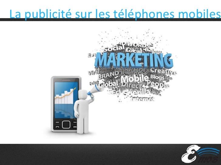 La publicité sur les téléphones mobiles