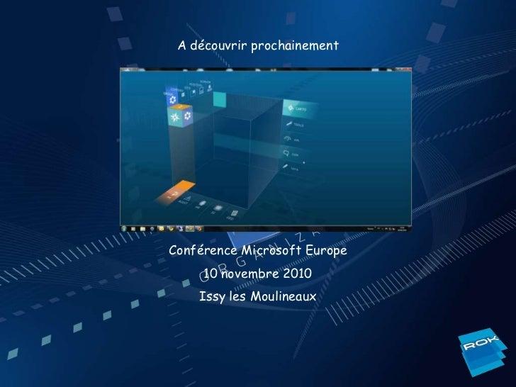 Présentation mondial 01-10-2010