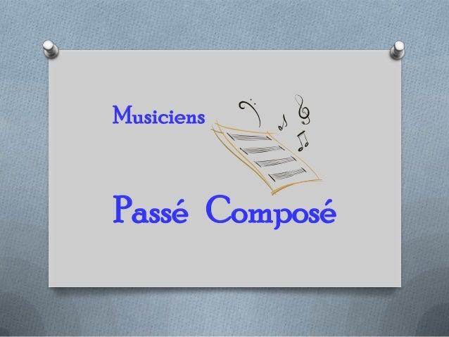 Passé Composé Musiciens