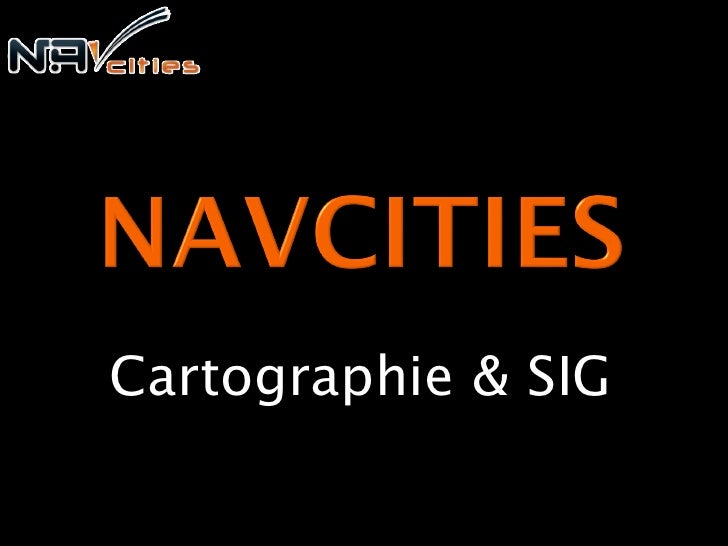 Cartographie & SIG