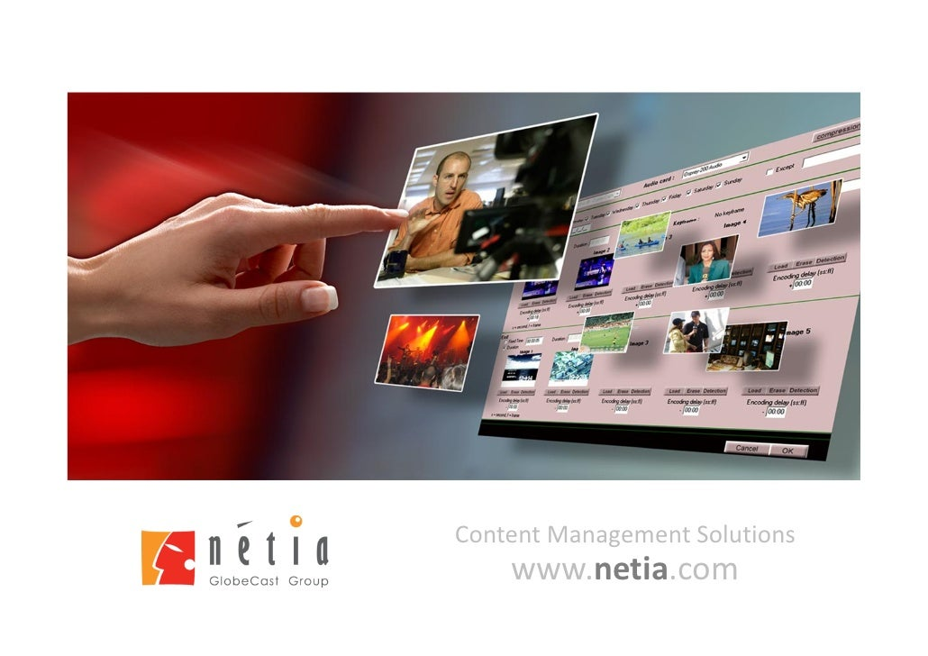 Content Management Solutions    www.netia.com
