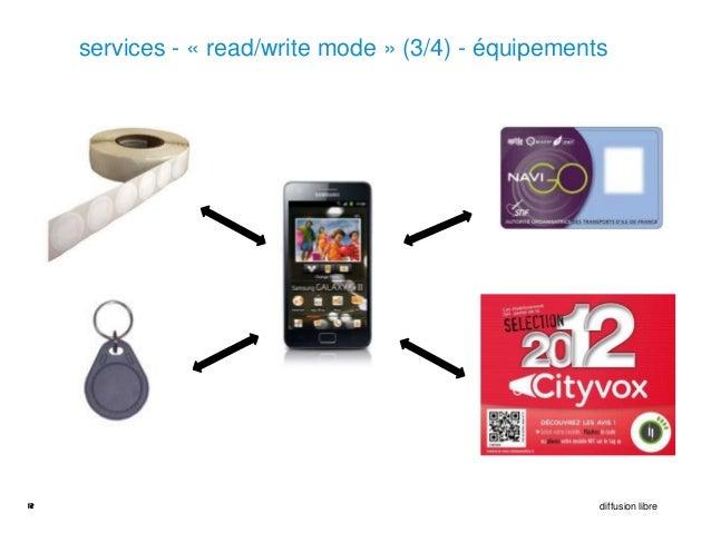 services - « read/write mode » (3/4) - équipements12                                                    diffusion libre