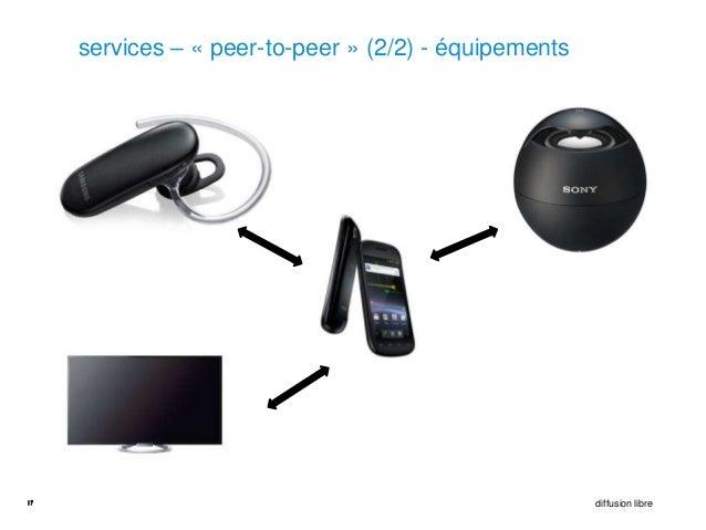 services – « peer-to-peer » (2/2) - équipements17                                                     diffusion libre