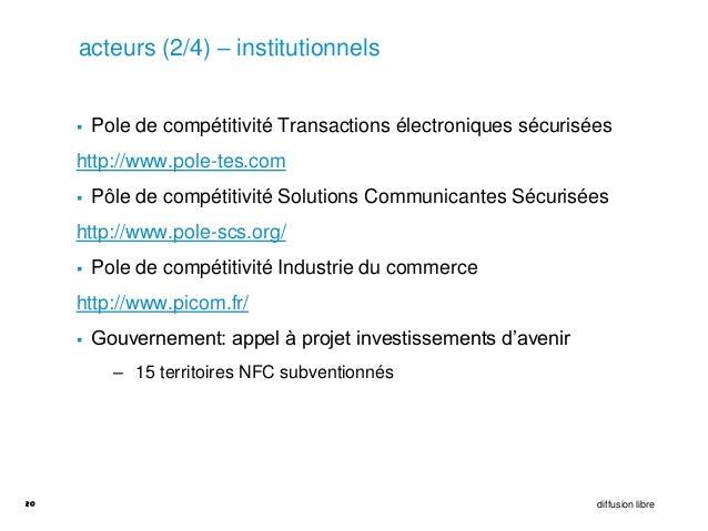 acteurs (2/4) – institutionnels        Pole de compétitivité Transactions électroniques sécurisées     http://www.pole-te...