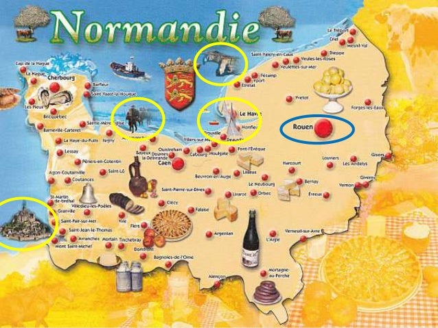 Pr sentation normandie for Specialite normande cuisine