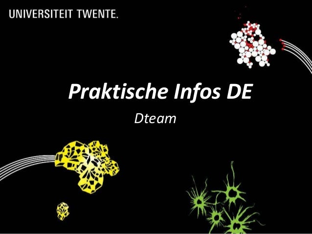 Praktische Infos DE      Dteam