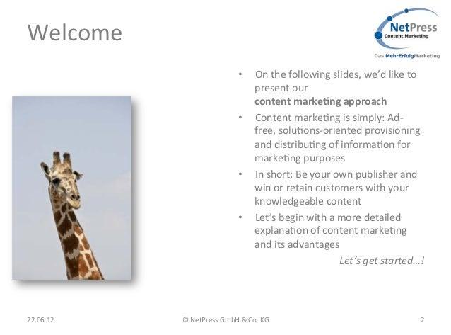 NetPress Content Marketing & Lead Management Strategie Slide 3