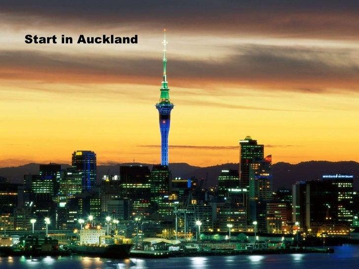 Start in Auckland