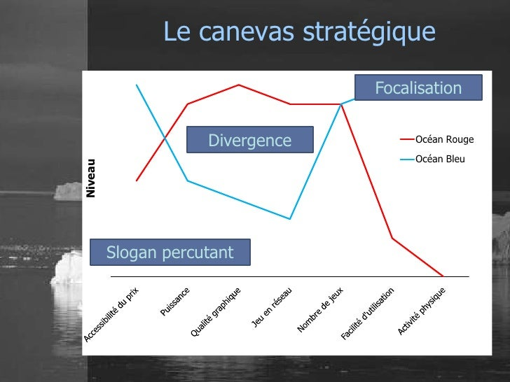 Le canevas stratégique                                  Focalisation                     Divergence        Océan Rouge    ...