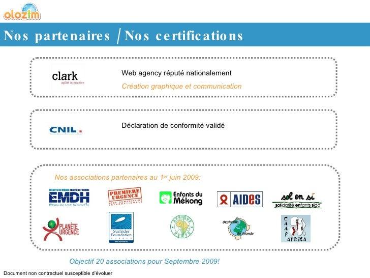 Web agency réputé nationalement  Création graphique et communication Déclaration de conformité validé Nos associations par...