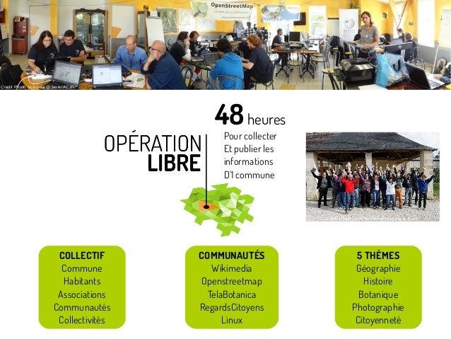 Pour collecter Et publier les informations D'1 commune 48heures COLLECTIF Commune Habitants Associations Communautés Colle...