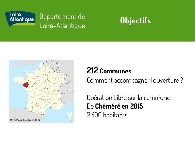 Département de Loire-Atlantique Credit Visuel Cc-by-sa TUBS Objectifs 212 Communes Comment accompagner l'ouverture? Opéra...