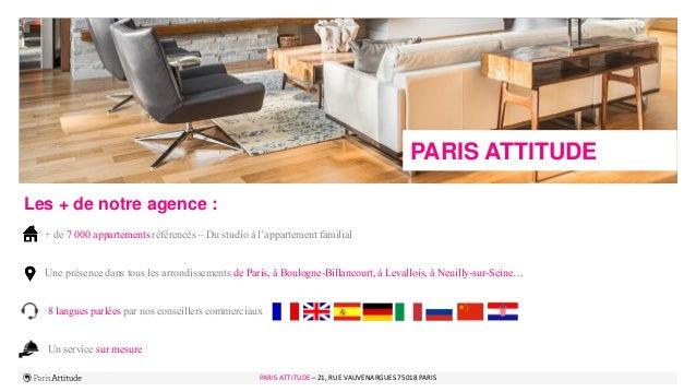 PARIS ATTITUDE - 21 rue Vauvenargues – 75018 Paris 4PARIS ATTITUDE – 21, RUE VAUVENARGUES 75018 PARIS PARIS ATTITUDE Les +...