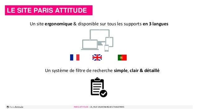 PARIS ATTITUDE - 21 rue Vauvenargues – 75018 Paris 5PARIS ATTITUDE – 21, RUE VAUVENARGUES 75018 PARIS LE SITE PARIS ATTITU...