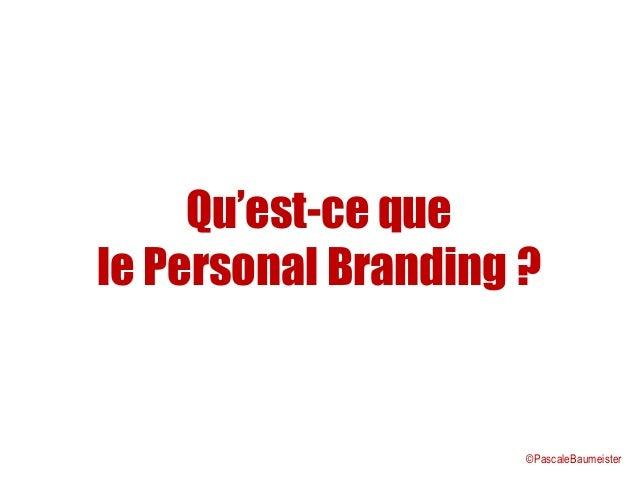 Présentation Personal Branding Slide 2
