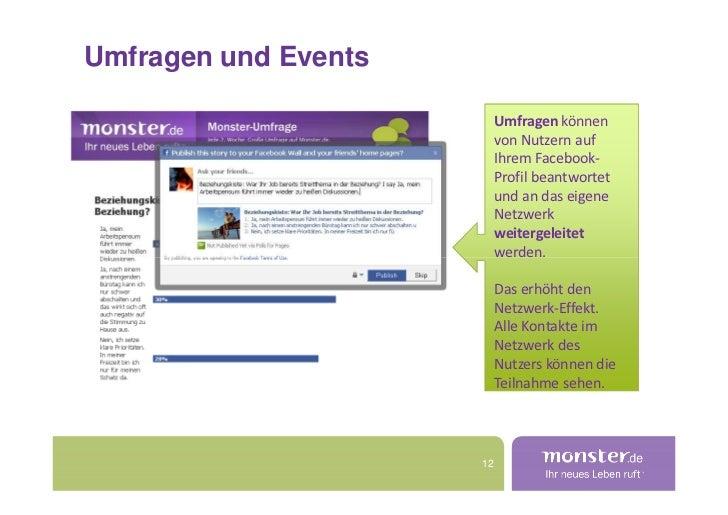 Umfragen und Events                             Umfragen können                            von Nutzern auf                ...