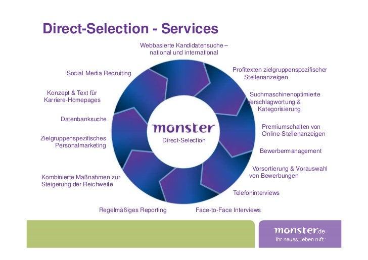 Direct-Selection - Services                                    Webbasierte Kandidatensuche –                              ...