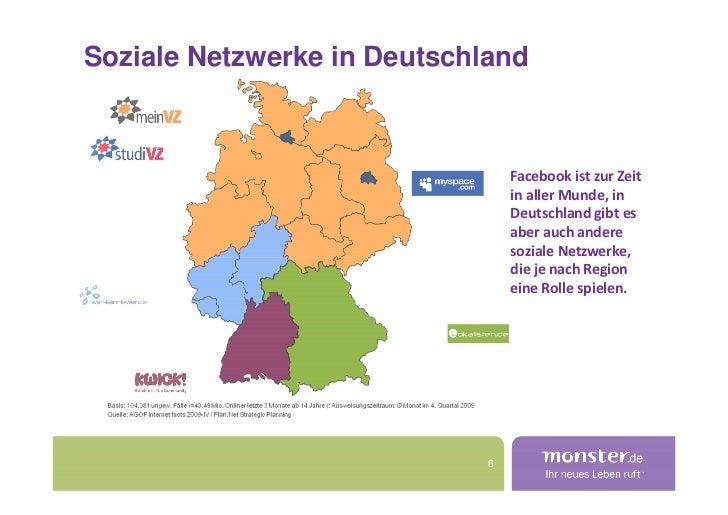 Soziale Netzwerke in Deutschland                                     Facebook ist zur Zeit                                ...