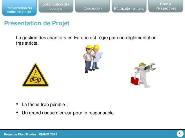 Application de gestion suivi et de s curit des chantiers for Application de suivi de chantier