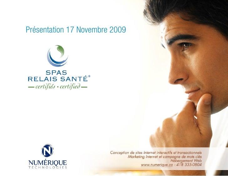 Présentation 17 Novembre 2009