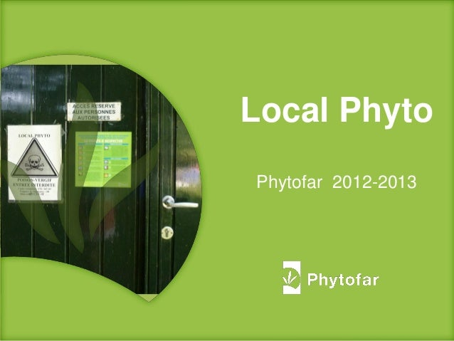 Local PhytoPhytofar 2012-2013