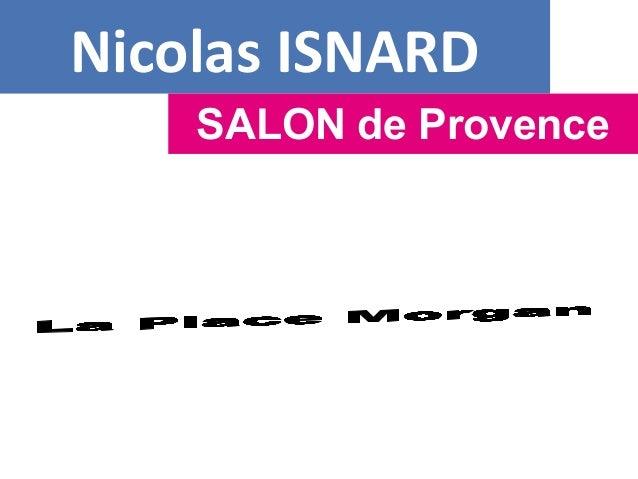 Nicolas ISNARD SALON de Provence