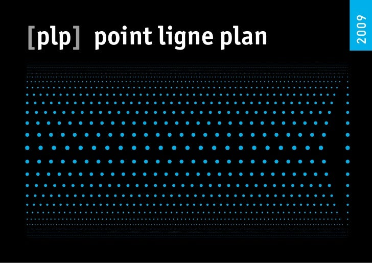 2009 [plp] point ligne plan