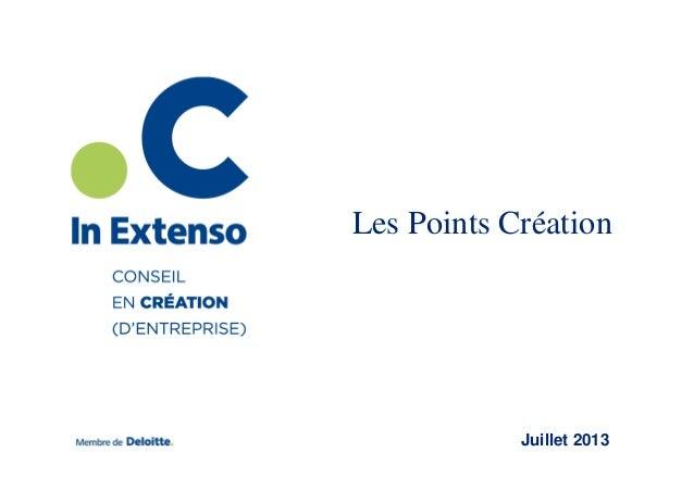 Les Points Création  Juillet 2013