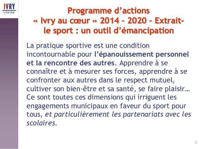 Ivry pr sentation politique sportive 17 mars 2015 - Comment faire plaisir a son mari au lit ...