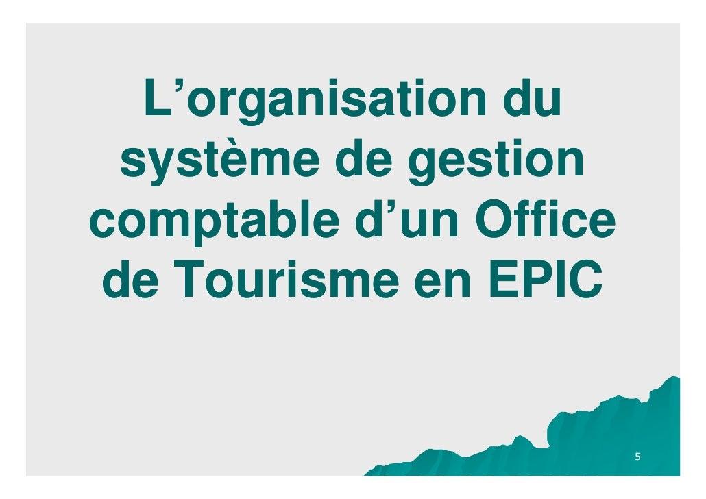 La comptabilite m4 pour un office de tourisme en epic - Office de tourisme de correncon en vercors ...