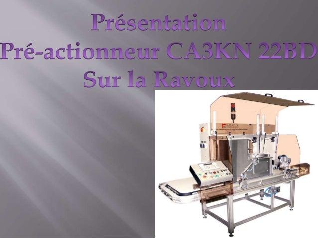 Pré-actionneur KM3
