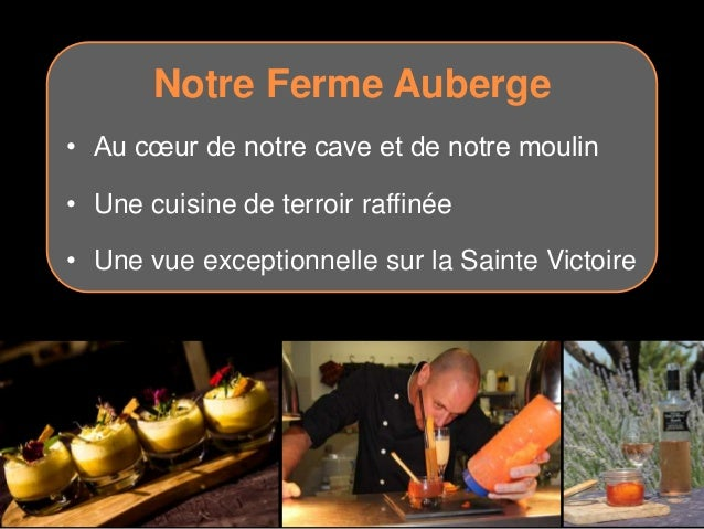 Workshop tourisme aix pays d 39 aix pr sentation prix oenot for Aix cuisine de terroir