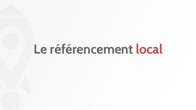 Le référencement local