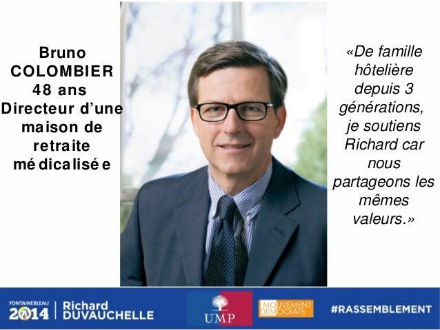 Bruno COLOMBIER 48 ans Directeur d'une maison de retraite mé dicalisé e  «De famille hôtelière depuis 3 générations, je so...