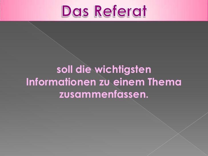 Präsentation Referat Slide 2