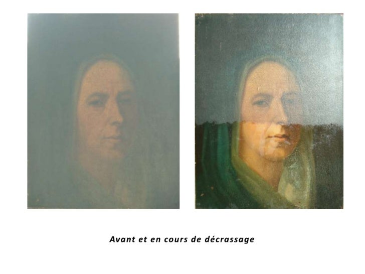 Présentationrestauration de tableaux