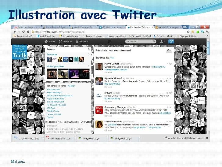 Illustration avec TwitterMai 2012