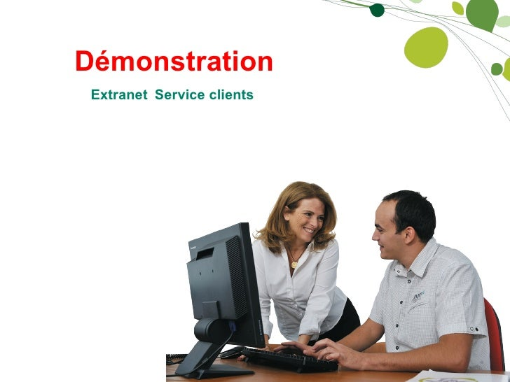 Démonstration Extranet   Service clients