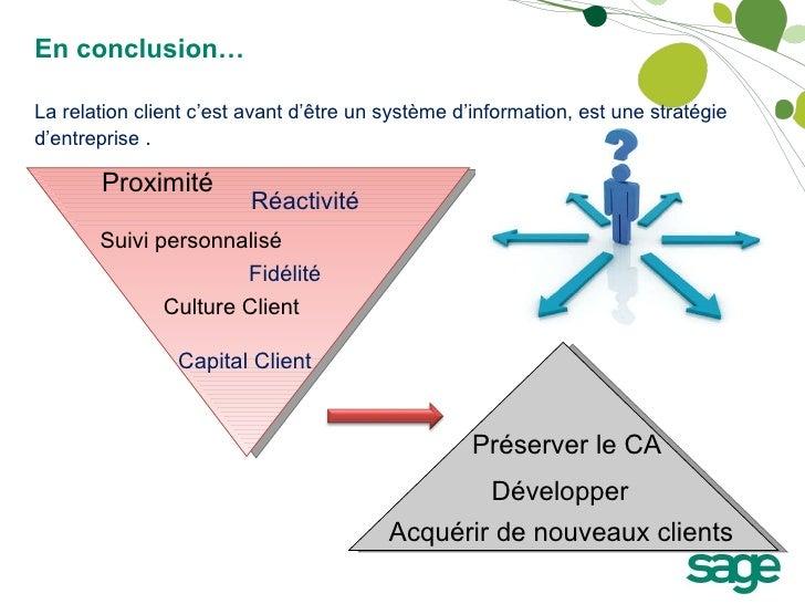 Proximité Réactivité Suivi personnalisé Fidélité Culture Client Capital Client Développer Acquérir de nouveaux clients La ...