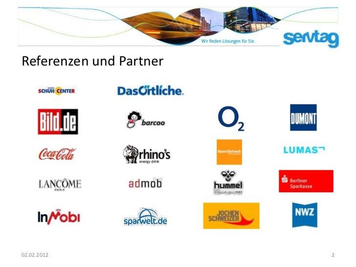 Referenzen und Partner02.02.2012               2