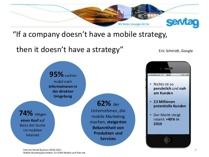 """""""If a company doesn't have a mobile strategy, then it doesn't have a strategy""""                                            ..."""