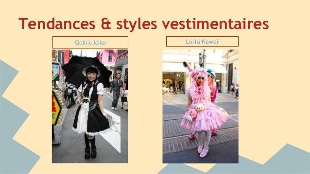 Tendances & styles vestimentaires Gothic lolita Lolita Kawaii
