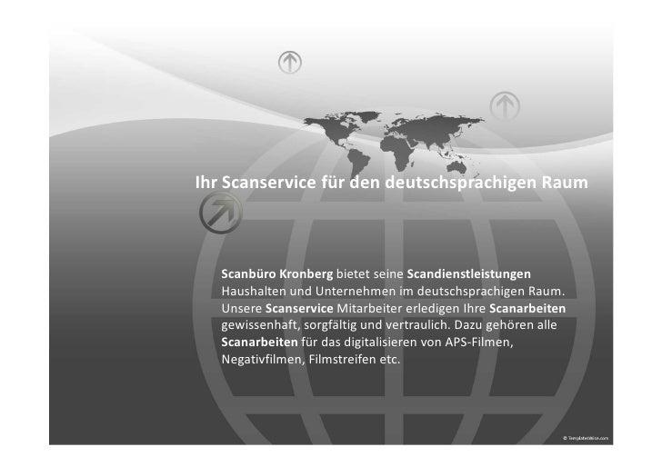 Ihr Scanservice für den deutschsprachigen Raum   Scanbüro Kronberg bietet seine Scandienstleistungen   Haushalten und Unte...